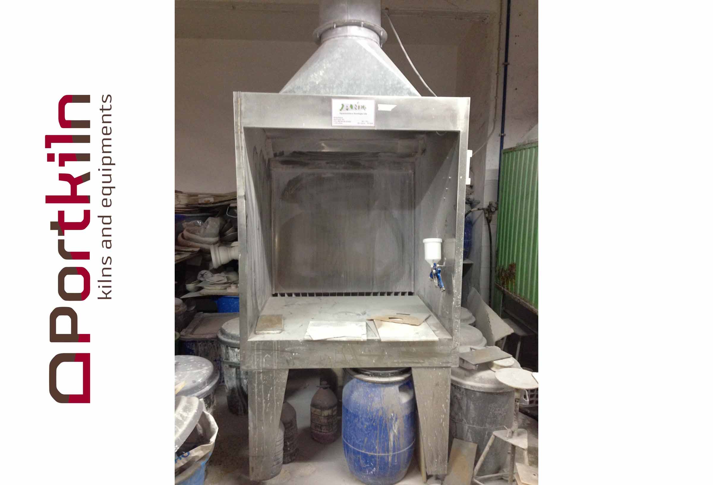 REF.2013016  SPRAY BOOTH